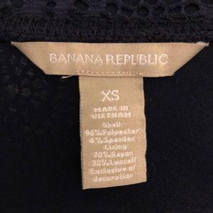 NWOT Banana Republic SS Lace Top | Sz. XS
